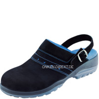 ATLAS GX 390 black Damen-Clog, ESD