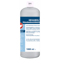 Dreiturm HEXAWOL Händedesinfektion 1000ml